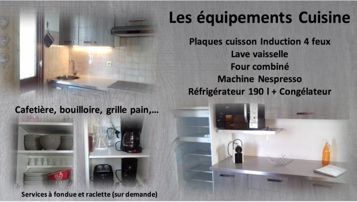 Tignes page cuisine site